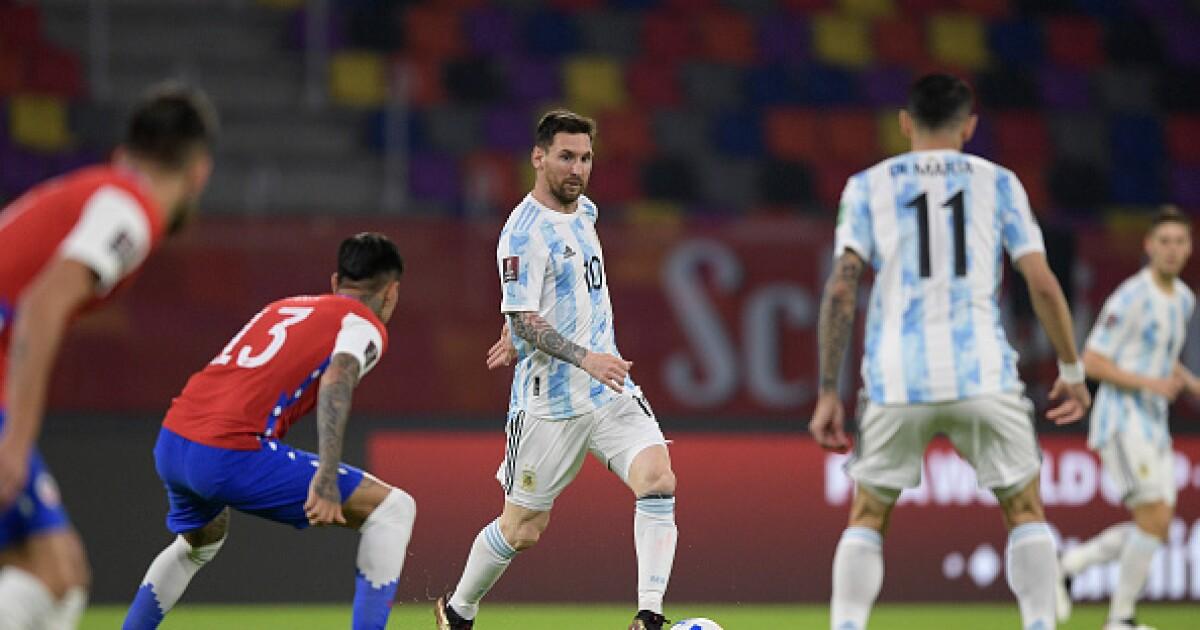 Argentina vs Chile: finalizó el cotejo, con igualdad en el marcador