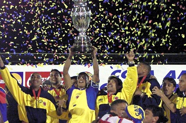 Colombia vs. México de la Copa América 2001