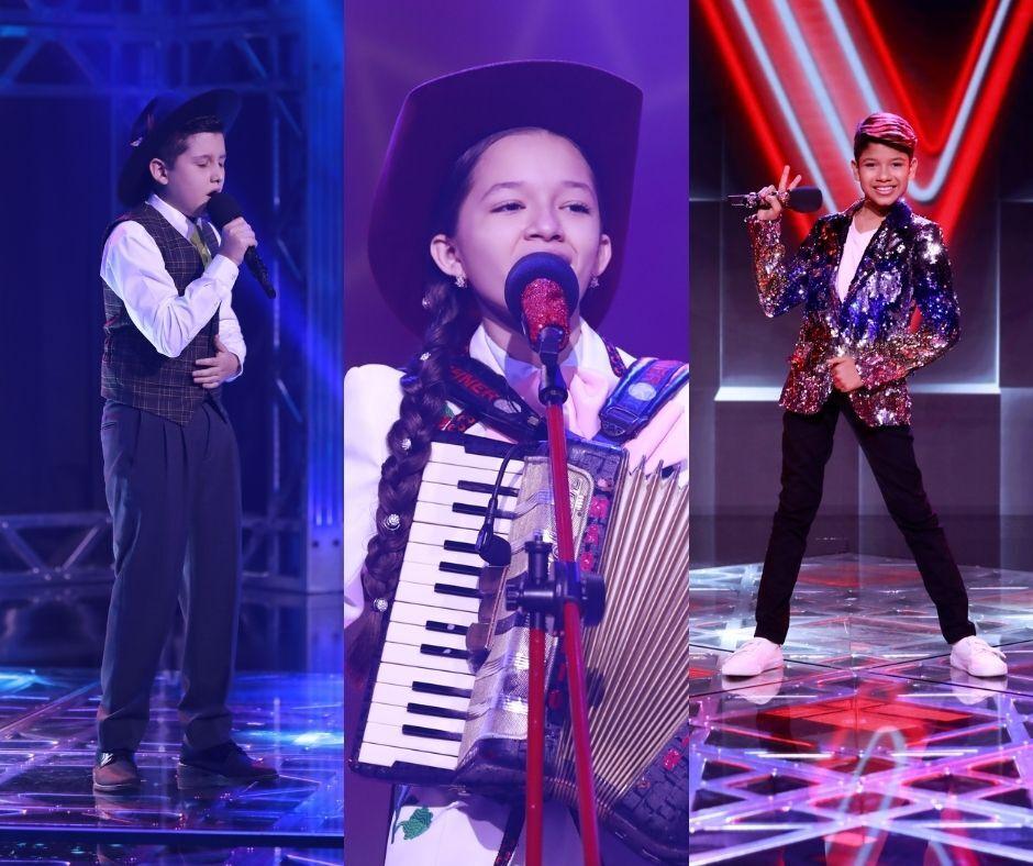 Estos son los finalistas de La Voz Kids.