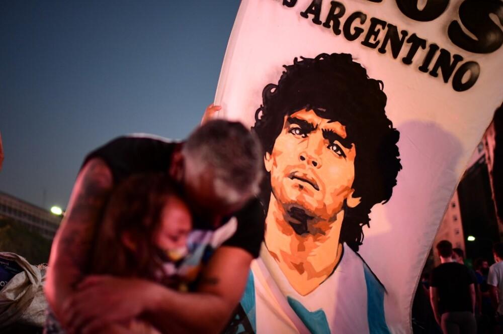 Despedida Diego Maradona en Argentina