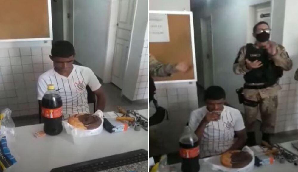 cumpleaños a preso en brasil