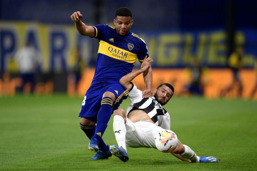 Frank Fabra, Boca Juniors vs Liberta