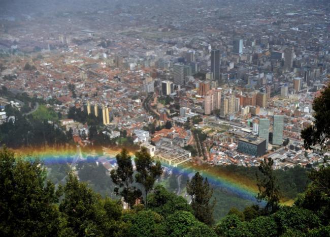 514_Panorámica de Bogotá - Foto: AFP