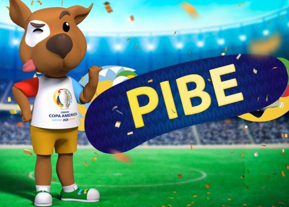 349877_BLU Radio. Mascota oficial de la Copa América 2020 // Foto Twiiter: @CopaAmerica