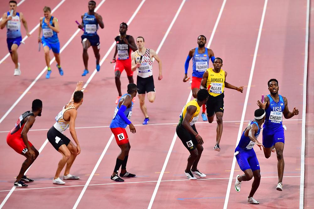 345200_BLU Radio // Atletas colombianos en el Mundial de atletismo de Doha // Foto: AFP