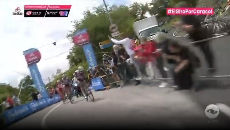 Primer premio de montaña etapa 14 Giro de Italia