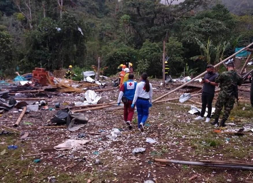 Explosión Líbano, Tolima