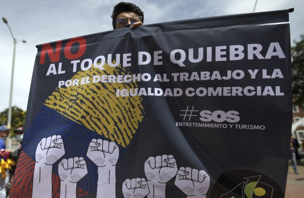 Protestas Cuarentenas