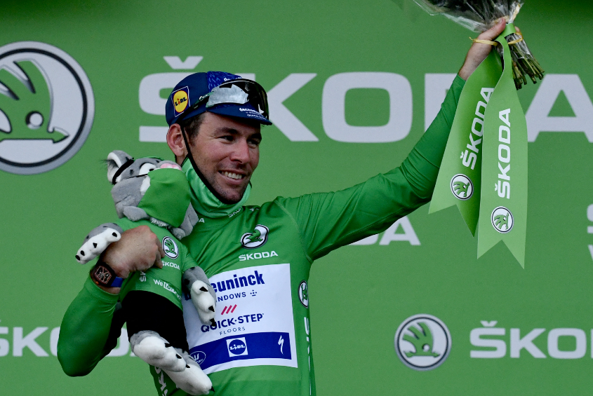 Mark Cavendish ha ganado 33 etapas en la historia del Tour de Francia.