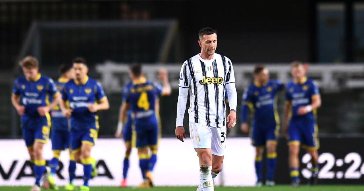 La Juventus vuelve a frenarse en la carrera por el 'Scudetto': empató 1-1 frente al Hellas Verona