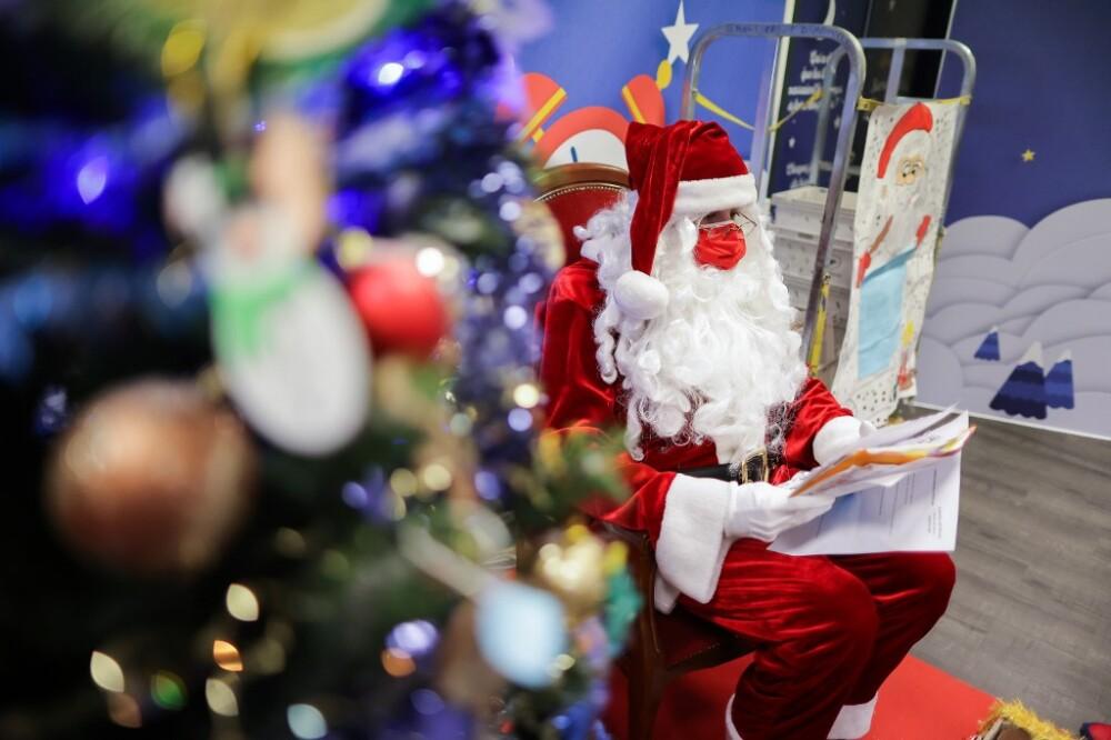 Papá Noel. Foto referencia AFP
