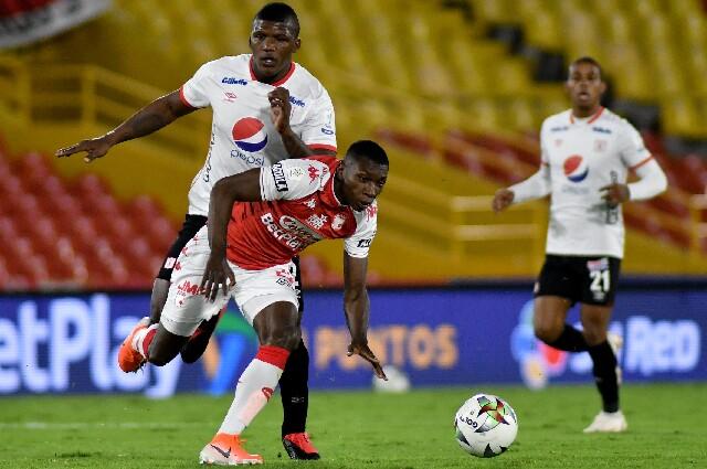 Independiente Santa Fe contra América de Cali, en Liga colombiana