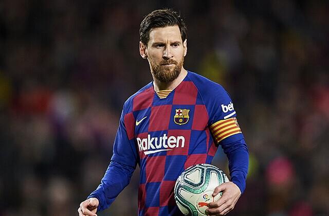Lionel Messi, jugador de Barcelona