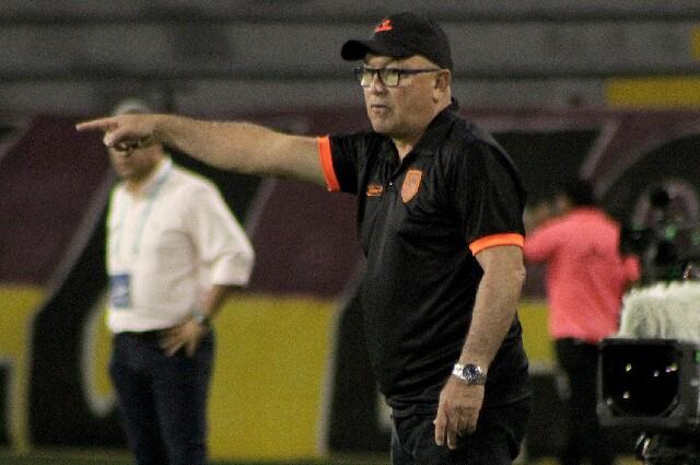 José Alberto Suárez, técnico de Envigado