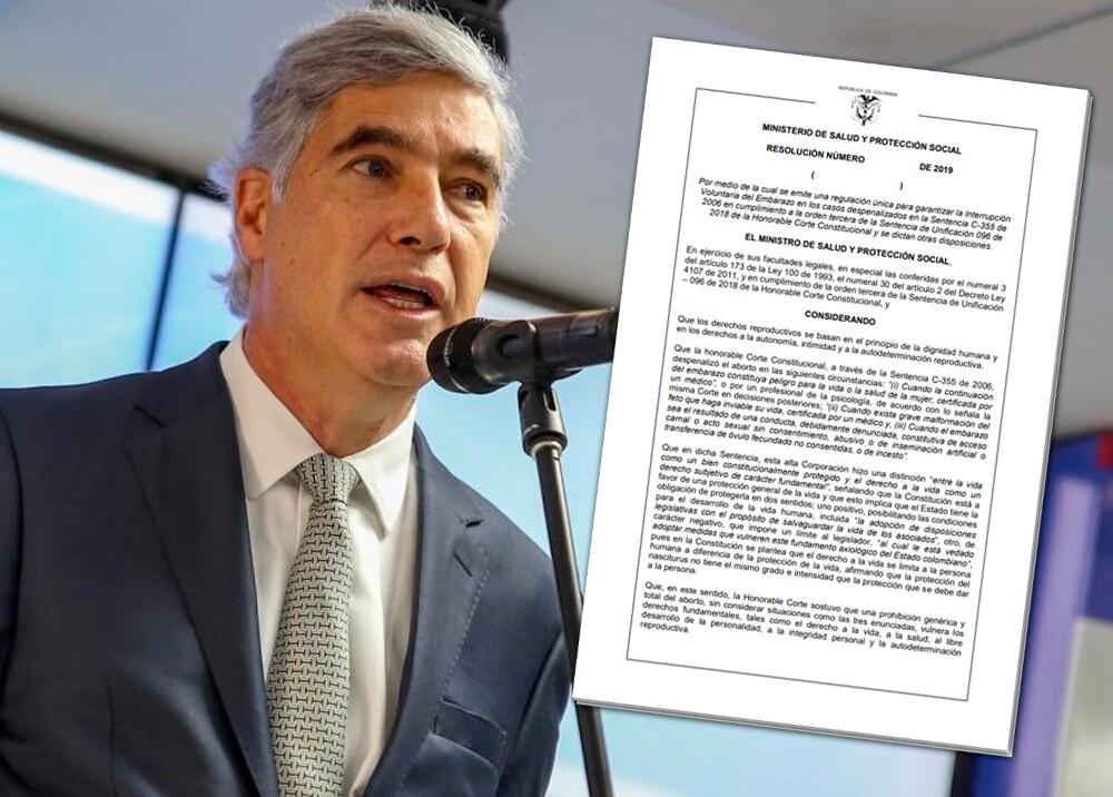 346708_Juan Pablo Uribe, ministro de Salud // Foto: MinSalud