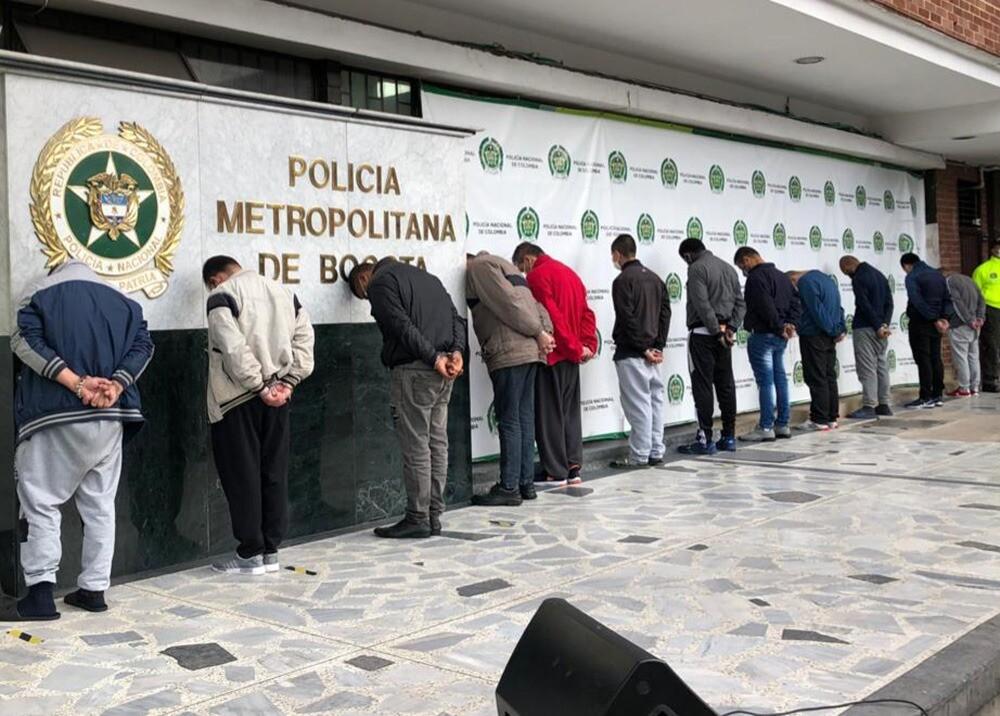 371975_Abusadores Bogotá / Foto Policía Metropolitana