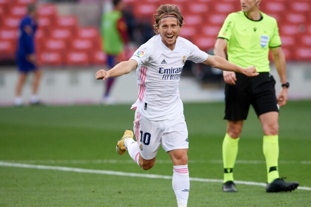 Vea el gol de Luka Modric hoy, Barcelona vs. Real Madrid, en la Liga de  España