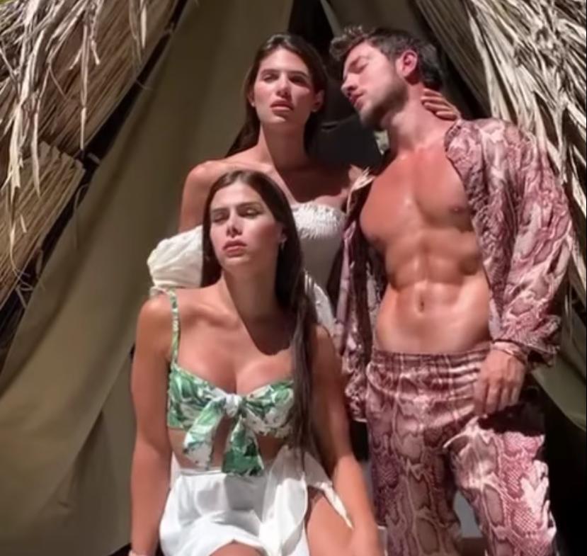 Mara, Alejandro y Bella
