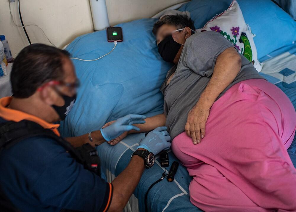 372347_Obesidad, diabetes e hipertensión, comorbilidades frente al COVID-19 // Foto: AFP, imagen de referencia