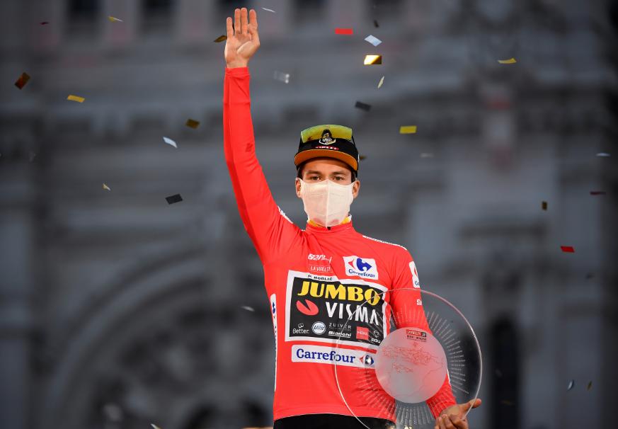 Primoz Roglic, campeón de la Vuelta a España 2020.