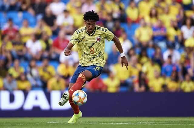 Yairo Moreno, futbolista colombiano