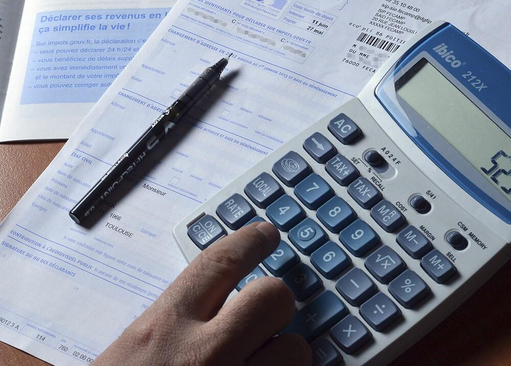 77896_BLU Radio. Impuestos / Foto de referencia: AFP