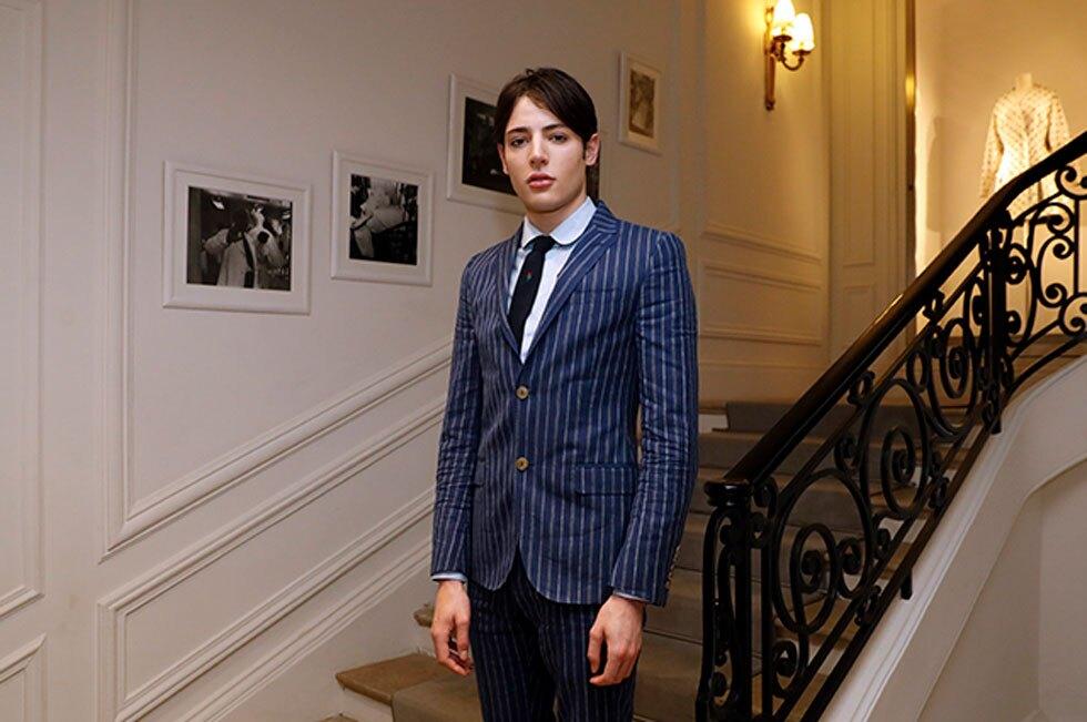 Harry Brant, hijo del multimillonario Peter Brant y la modelo Stephanie Seymour