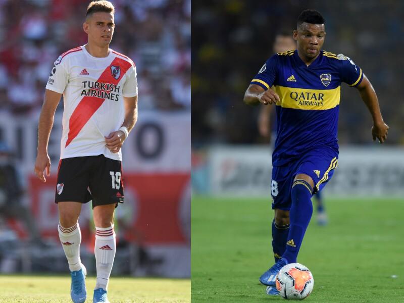 Santos Borré y Frank Fabra