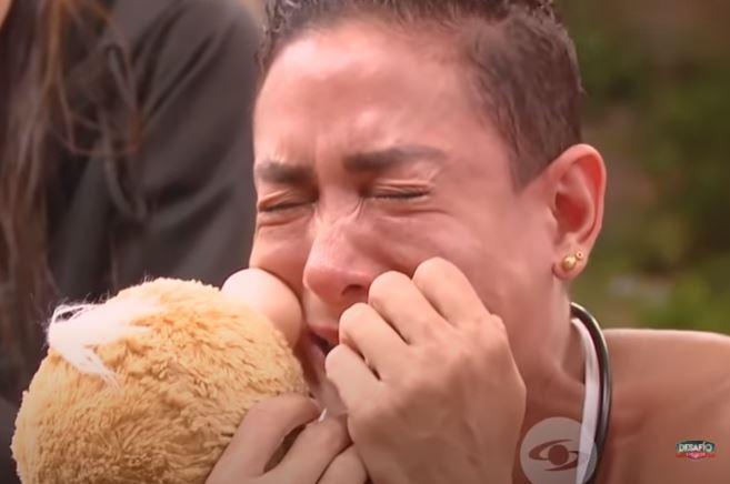 En el Desafío, Tiffi recibió emotiva sorpresa.JPG