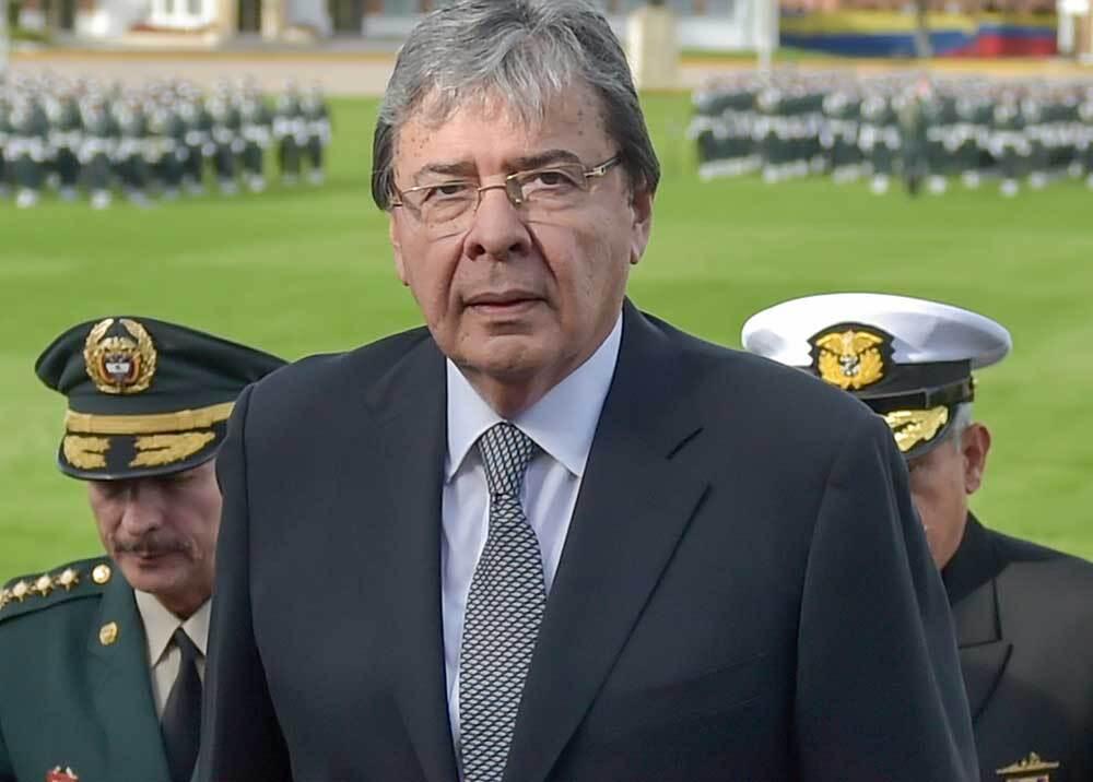 352774_Ministro de Defensa, Carlos Holmes Trujillo / Foto: AFP