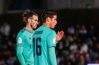 James Rodríguez y Gareth Bale - Foto: Getty Images