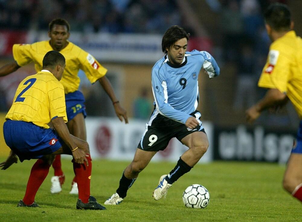 Álvaro Recoba URUGUAY-COLOMBIA