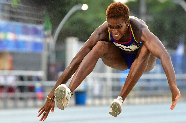 Yosiri Urrutia, atleta colombiana