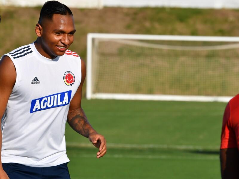 Alfredo Morelos, jugador Selección Colombi