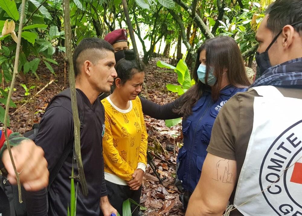 liberan a campesinos secuestrados en catatumbo.jpg