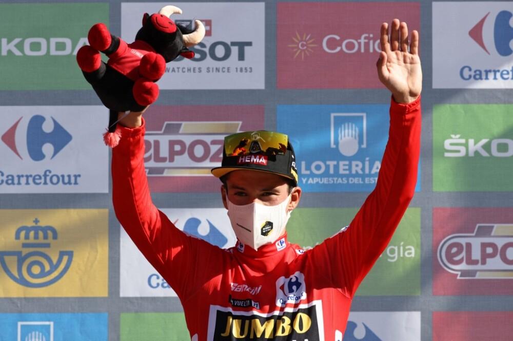 Primoz Roglic es el líder de la Vuelta a España 2021 en la etapa 7