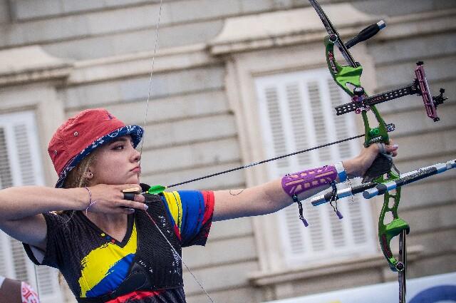 Valentina Acosta, en los Juegos Olímpicos
