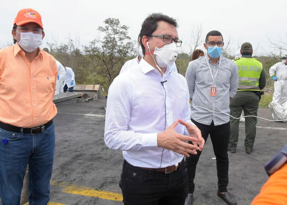 370158_Carlos Caicedo // Foto: Twitter Gobernación de Magdalena