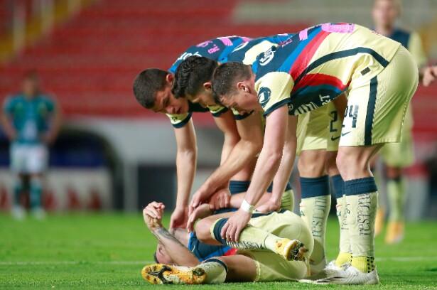 Nicolás Benedetti se perderá seis semanas por lesión de rodilla, pero libra una nueva ruptura de ligamentos