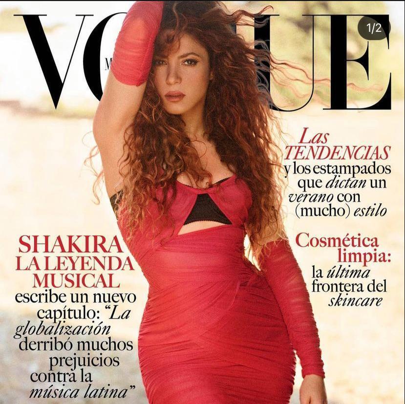 Shakira, portada de Vogue