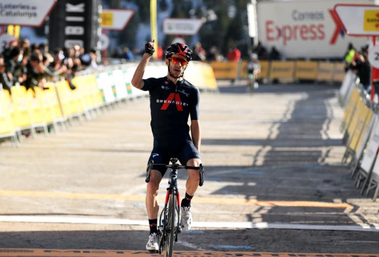 Adam Yates, líder Vuelta a Cataluña 2021.