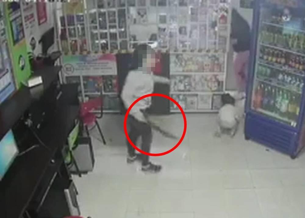 Intento de robo de papelería en Bogotá
