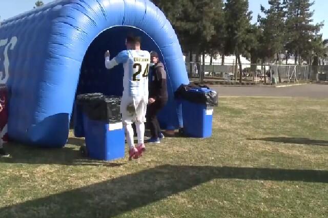 Celebración en el fútbol chileno