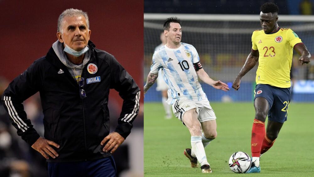 Carlos Queiroz, tendencia tras Colombia vs. Argentina