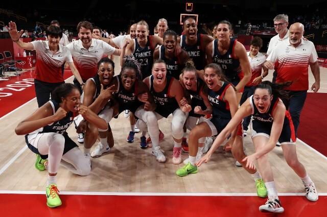 Francia contra Serbia, en baloncesto femenino de los Juegos Olímpicos