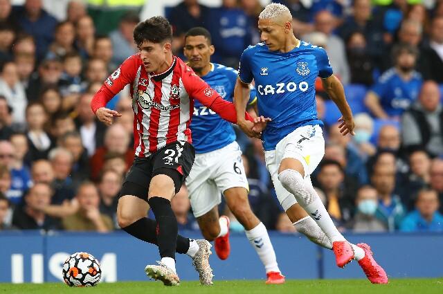 Everton contra Southampton, en Premier League