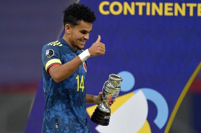 Luis Díaz, en la Copa América