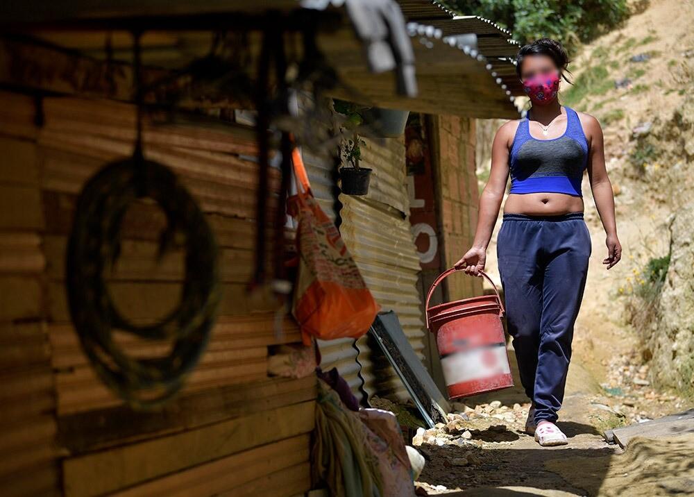 372731_Desempleo y pobreza en Colombia durante la pandemia // Foto: AFP, imagen de referencia