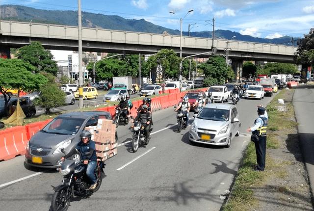 Rota el pico y placa en Medellín. Foto: Secretaría de Movilidad
