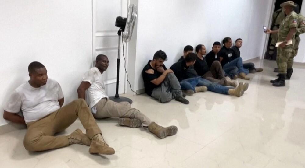 Capturados en Haití